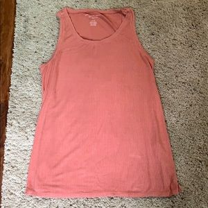 American eagle ribbed tank top